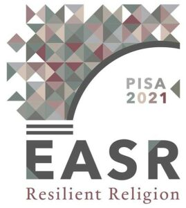 Logo of the EASR conference 2021 in Pisa